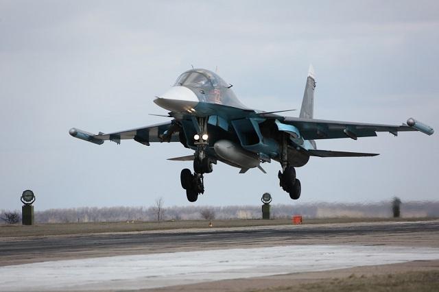 Ruská stíhačka SU-34