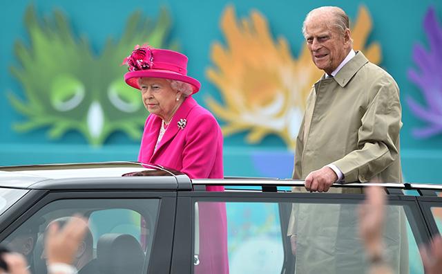 Alžbeta II manžel princ Philip