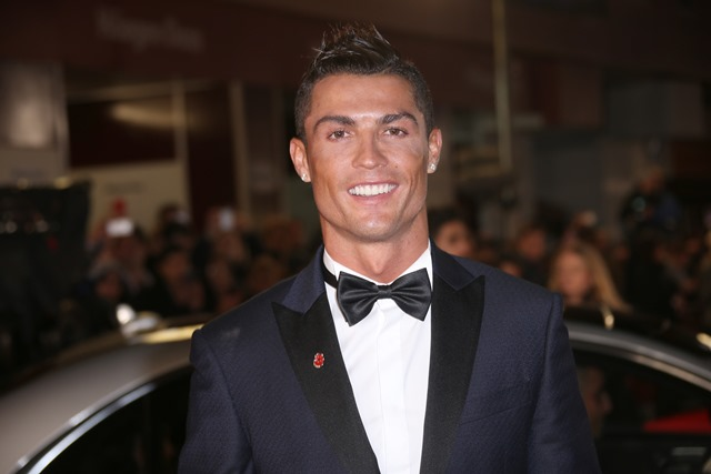 Na snímke portugalský futbalista Cristiano Ronaldo