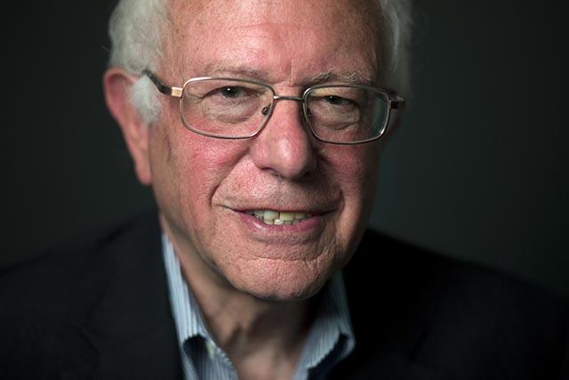 Uchádzač o prezidentskú nomináciu Demokratickej strany v USA Bernie Sanders