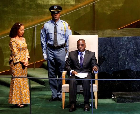 a snímke prezident Konžskej demokratickej republiky Joseph Kabila