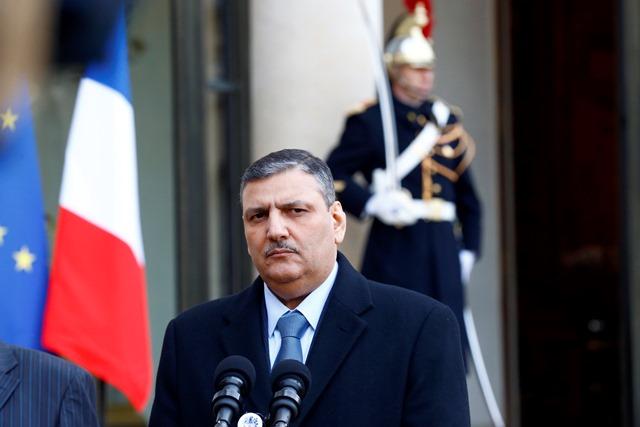 Na snímke bývalý sýrsky premiér a koordinátor sýrskeho opozičného tímu Rijád Hidžáb