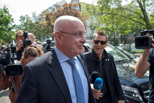 Na snímke viceprezident Európskej futbalovej únie (UEFA) Michael Van Praag