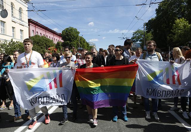 aktivisti pochod
