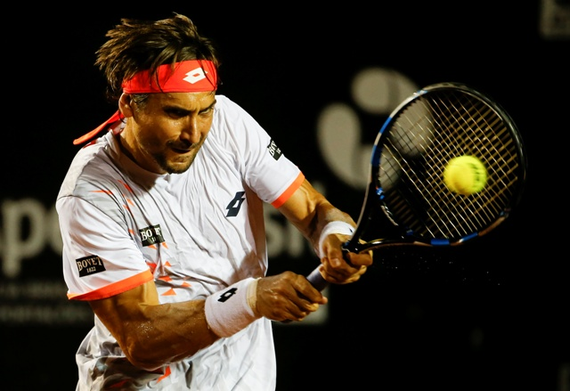 Na snímke španielsky tenista David Ferrer