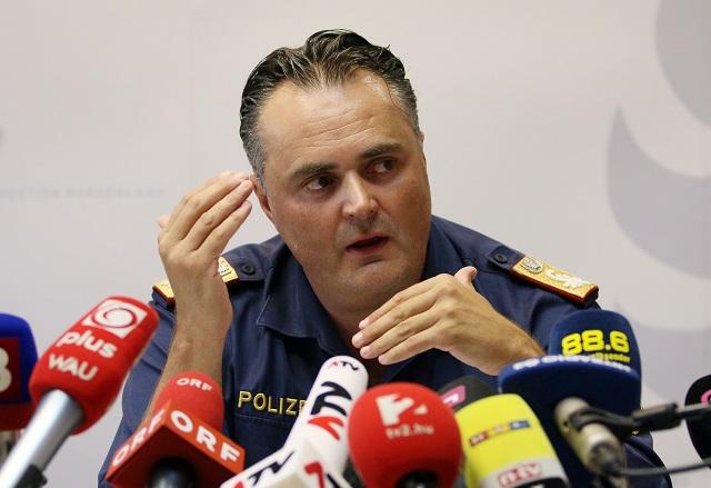 olicajný riaditeľ rakúskej provincie Burgenland Hans Peter Doskozil