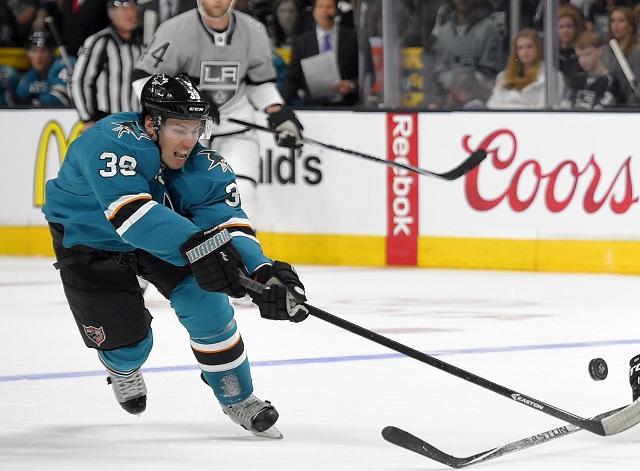 Hráč San Jose Sharks Logan Couture