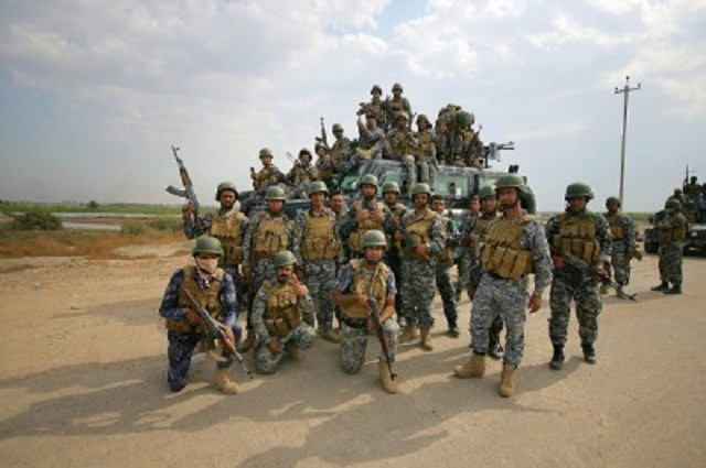 Irackí vojaci. Ilustračné foto
