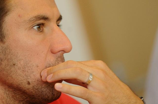 Na snímke kapitán chorvátskej futbalovej reprezentácie Darijo Srna
