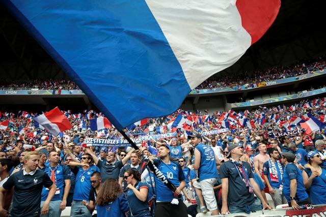 Francúzski fanúšikovia