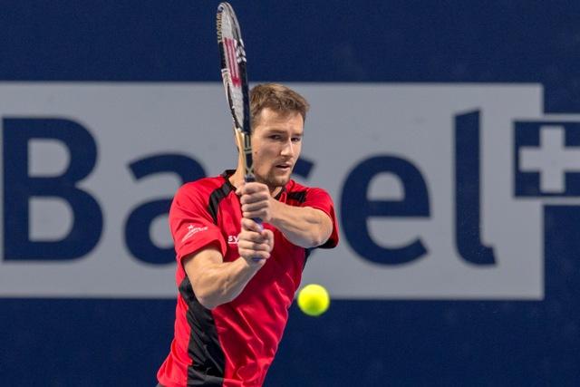Na snímke švajčiarsky tenista Marco Chiudinelli