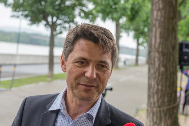 Na snímke primátor Bratislavy Ivo Nesrovnal