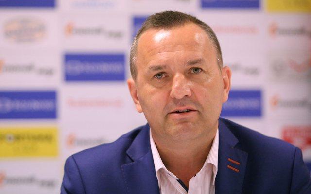 Na snímke športový riaditeľ Dušan Tittel