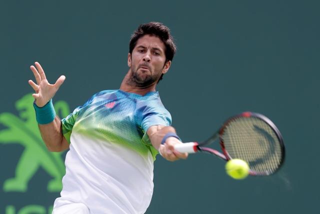 Na snímke španielsky tenista Fernando Verdasco