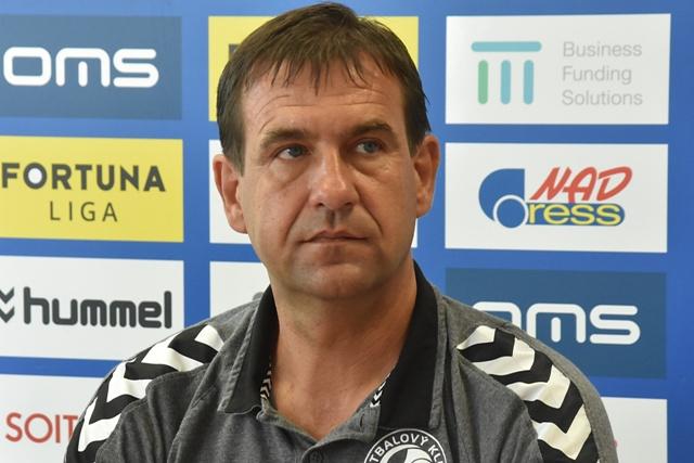 Na snímke nový tréner Aleš Čvančara