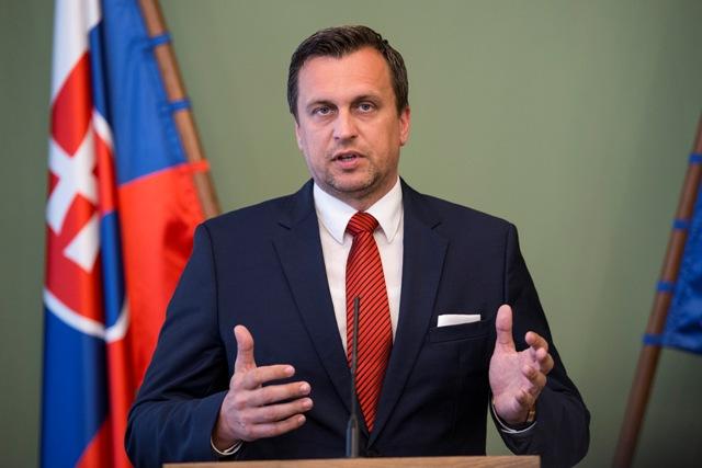 Na snímke predseda NR SR Andrej Danko (SNS)