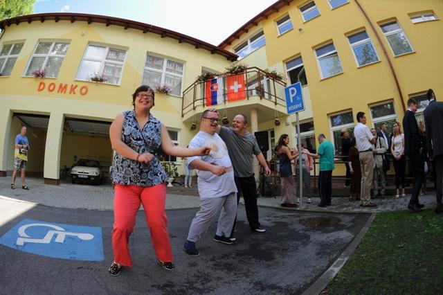 Slávnostné otvorenie nových priestorov v areáli zariadenia DOMKO-Domova sociálnych služieb v Košiciach 20. júla 2016