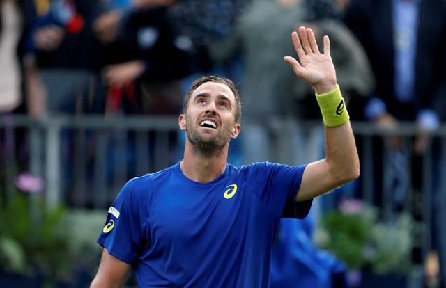 Na snímke americký tenista Steve Johnson