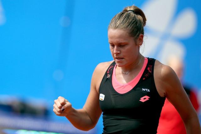 Na snímke talianska tenistka Karin Knappová