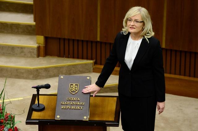 Na snímke Eva Smolíková (SNS)