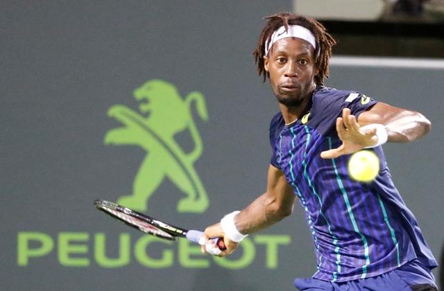 Na snímke francúzsky tenista Gaël Monfils