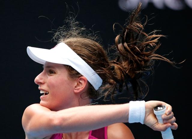 Na snímke britská tenistka Johanna Kontová