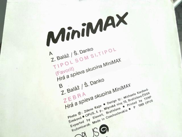 Druhá strana plátne Minimaxu, r. 1988