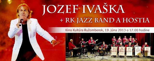 Jozef Ivaška vystupuje s vlastným orchestrom