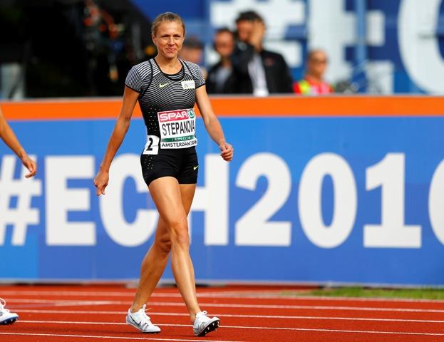 Na snímke ruská atlétka Julia Stepanovová