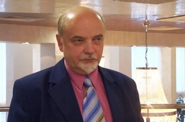 Na snímke doktor politických vied, profesor Surgutskej štátnej univerzity Michail Martynov