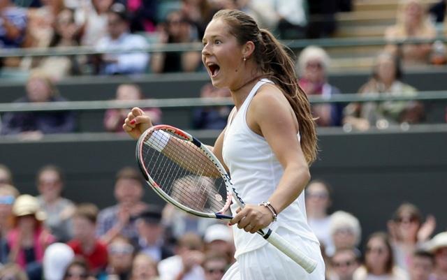 Na snímke ruská tenistka Daria Kasatkinová