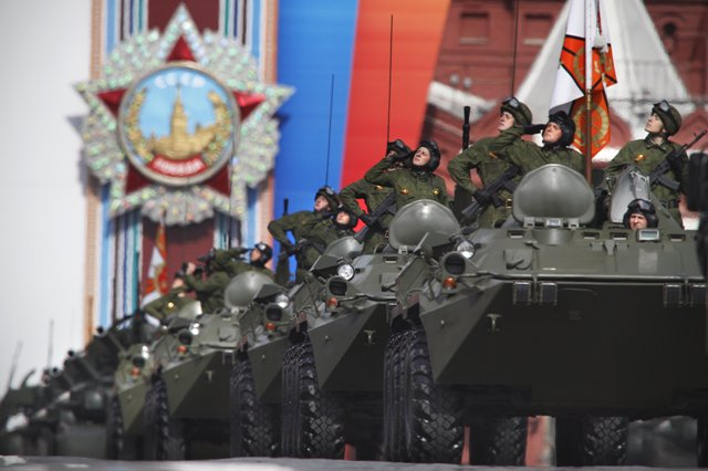Ilustračné foto: ruskí vojaci