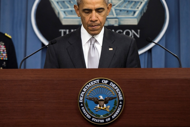 Na snímke americký prezident Barack Obama. Foto:TASR/AP-Evan Vucci