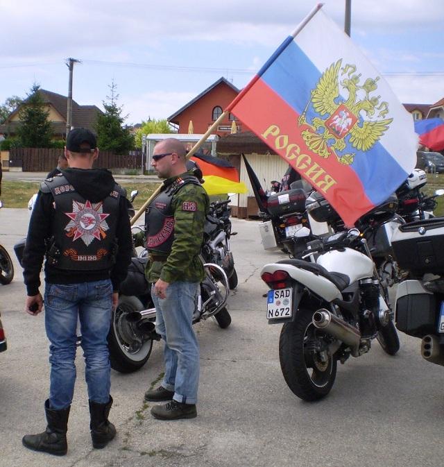 Noční vlci sa zúčastnili na akcii Slovanskej vzájomnosti v Rišňovciach a svoju púť zavŕšili v starobylej Nitre počas Cyrilo-metodských slávností