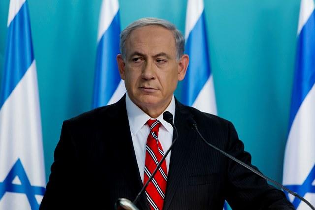 Na snímke zraelský premiér Benjamin Netanjahu