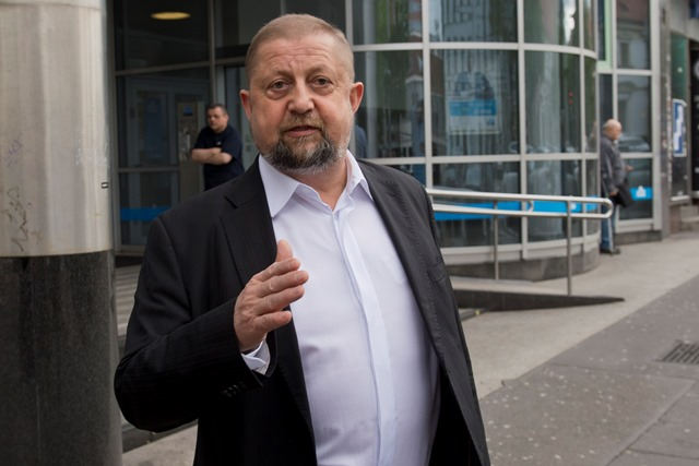 Na snímke sudca Najvyššieho súdu (NS) SR Štefan Harabin
