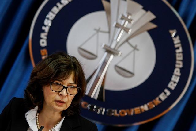 Na snímke ministerka spravodlivosti Lucia Žitňanská
