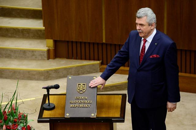 Na snímke Peter Marček