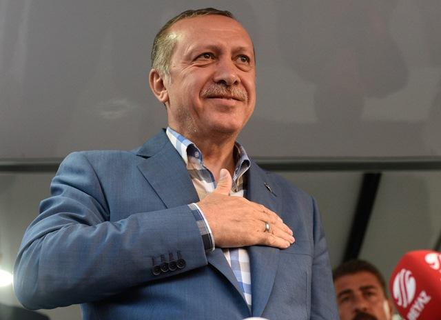 Na videosnímke turecký prezident Recep Tayyip