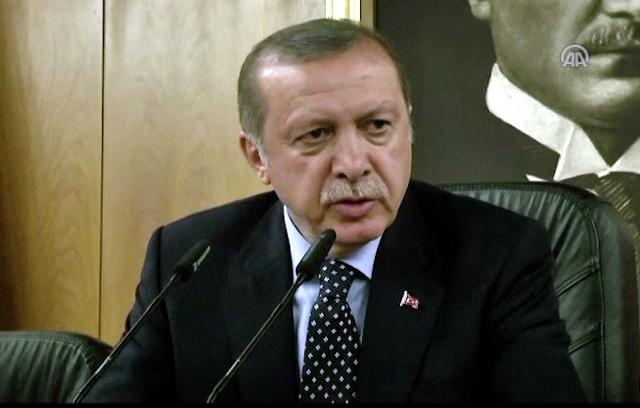 Na videosnímke turecký prezident Recep Tayyip Erdogan