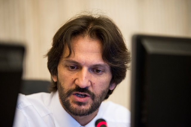 Na snímke minister vnútra SR Robert Kaliňák