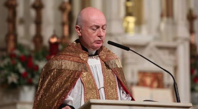 Na snímke katolícky kňaz George Rutler