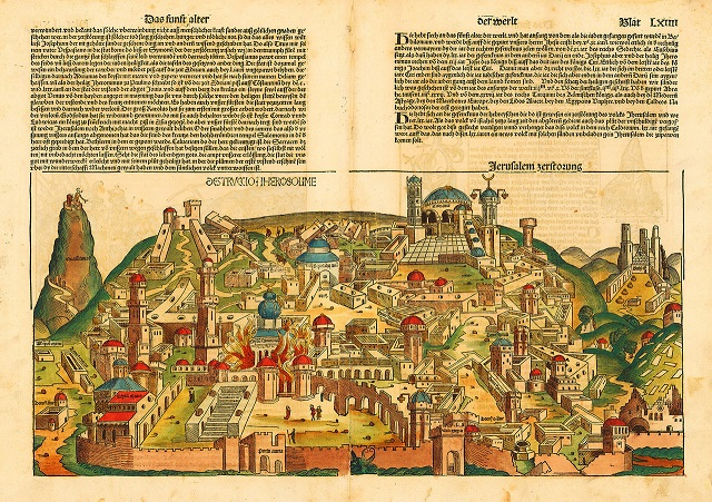 Schedel Nuremberg chronicle Jerusalem