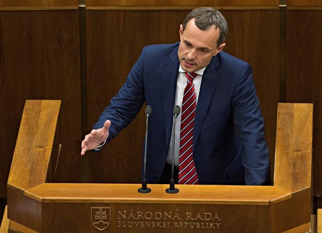 Na snímke poslanec Radoslav Procházka (#Sieť)