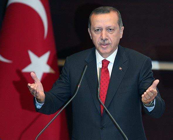 Turecký prezident Recep Tayyip Erdigan