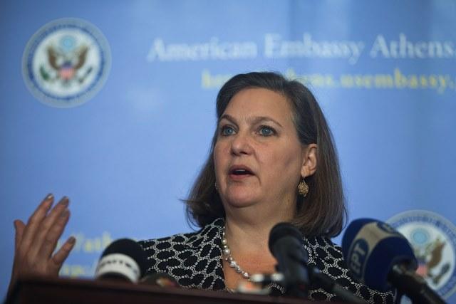 Na snímke námestníčka amerického ministra zahraničných vecí Victoria Nulandová