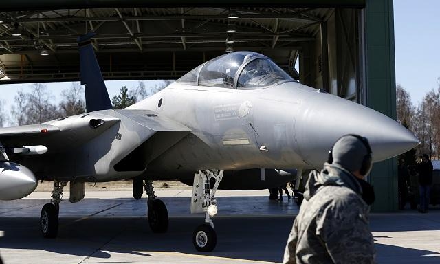Americké stíhacie lietadlo F-15C Eagle