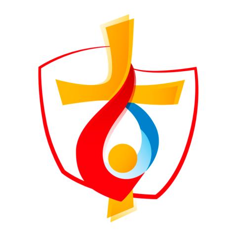 Na snímke logo Svetové dni mládeže