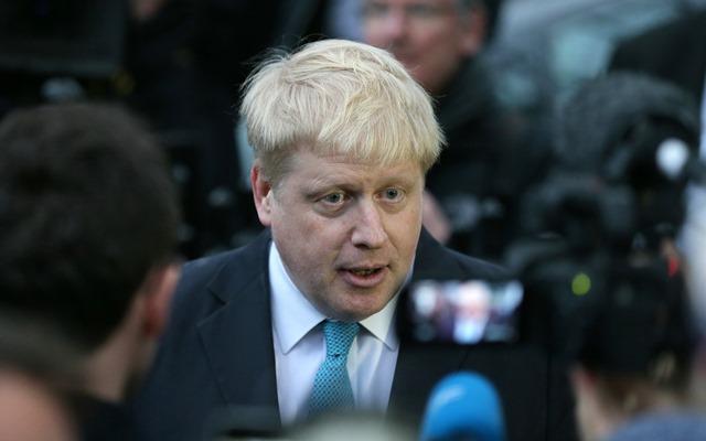 Na snímke bývalý starosta Londýna Boris Johnson