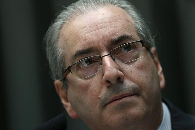 Predseda dolnej komory brazílskeho parlamentu Eduardo Cunha